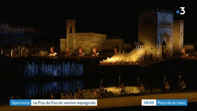 Le spectacle du Puy-du-Fou à Tolède