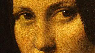 """""""La Belle Ferronnière"""" de Léonard de Vinci (détail)  (Tha Art Archive / The Picture Desk / Musée du Louvre, Paris / AFP)"""
