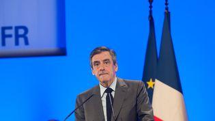 François Fillon, en meeting près de Poitiers, le 9 février 2017. (JEAN MICHEL NOSSANT/SIPA / SIPA)