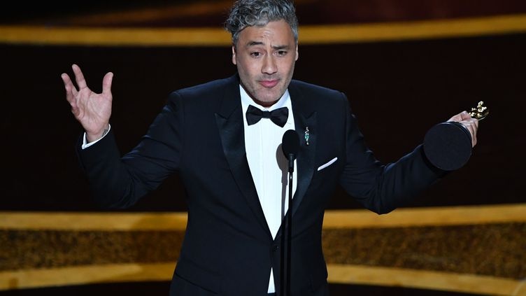 Le réalisateur néo-zélandais avait remportél'Oscar du meilleur scénario cette année pourJojo Rabbit. (MARK RALSTON / AFP)