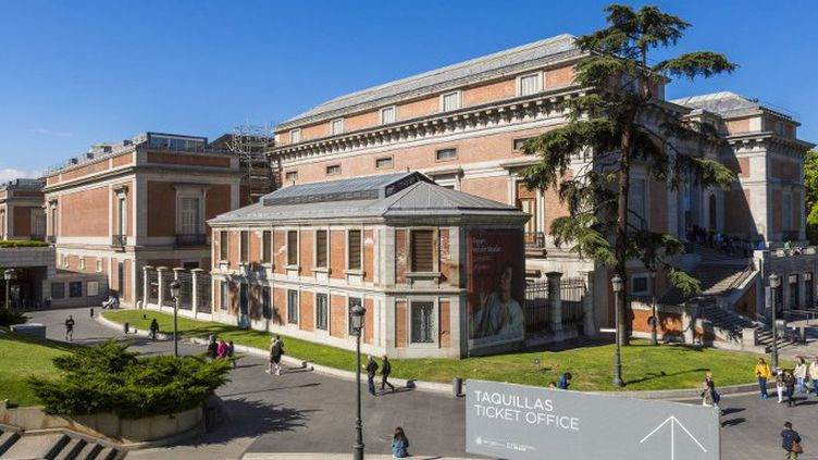 Le Musée du Prado se trouve dans le quartier Retiro de Madrid, en Espagne  (GARDEL BERTRAND / HEMIS.FR / HEMIS)