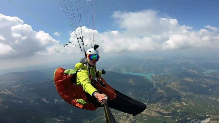Le défi plantète de Nicolas Plain : traverser les Alpes sans Co2 (France 3 Grenoble)