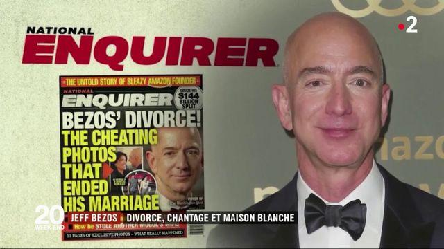 Jeff Bezos : un chantage qui fait planer l'ombre de Donald Trump