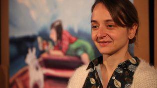 Marion Montaigne, présidente du Grand jury de la 47ème édition du festival d'Angoulême (Francis Forget)