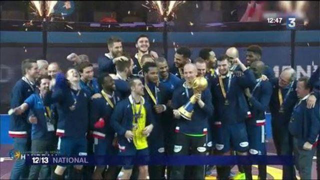 Handball : les Experts réalisent l'exploit de remporter un sixième titre mondial