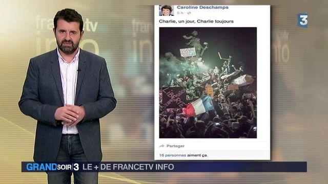 Le + de Francetv info : Un an de tweets autour des attentats
