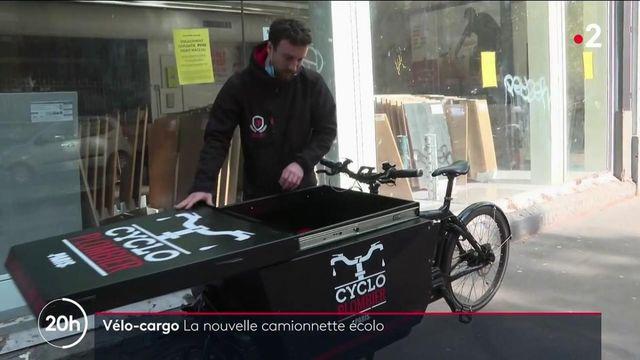 Transport : le succès du vélo-cargo
