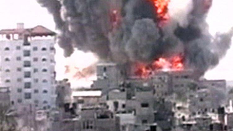 Bombardement israélien sur Gaza (© France 2)