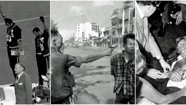 Mexico, Vietnam, Etats-Unis, les événement de l'année 1968 s'écrivent aussi en photo  (France 2 / Culturebox / DR)