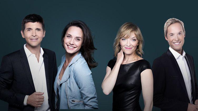 """Thomas Sotto et Julia Vignali présenteront """"Télématin"""" sur France 2 à partir de la rentrée de septembre 2021. (FRANCE TELEVISIONS)"""