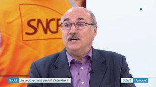 Luc Bérille, secrétaire général de l'Unsa (France 3)