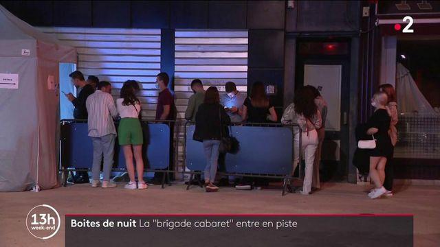 """Boîtes de nuit : la """"brigade cabaret"""" veille au respect des mesures sanitaires"""