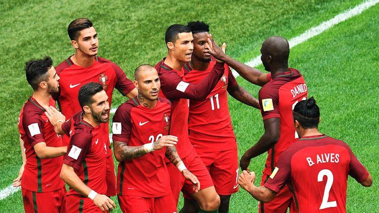 Le Portugal de Cristiano Ronaldo. (VLADIMIR PESNYA / SPUTNIK)
