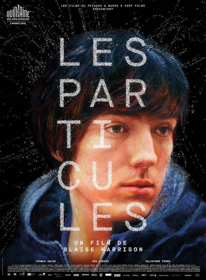 L'affiche du film de Blaise Harrison, Les Particules (Les Films du Losange)