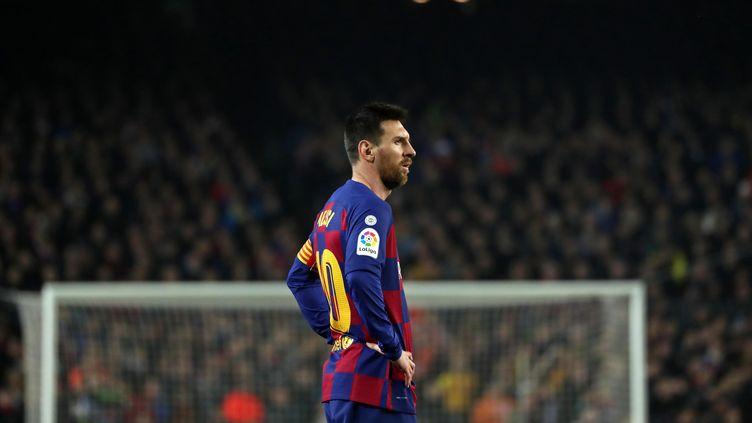 Lionel Messi, capitaine du FC Barcelone (JOAN VALLS / NURPHOTO)