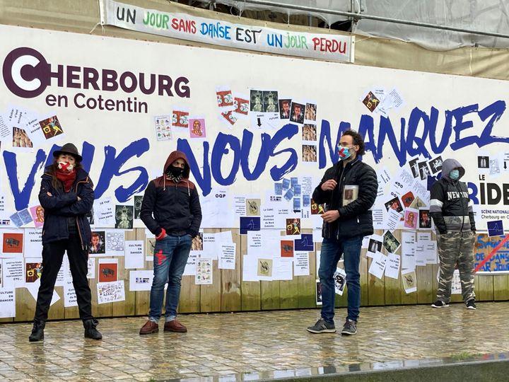 Occupation du Trident, Scène nationale de Cherbourg en Cotentin (SOPHIE JOUVE)