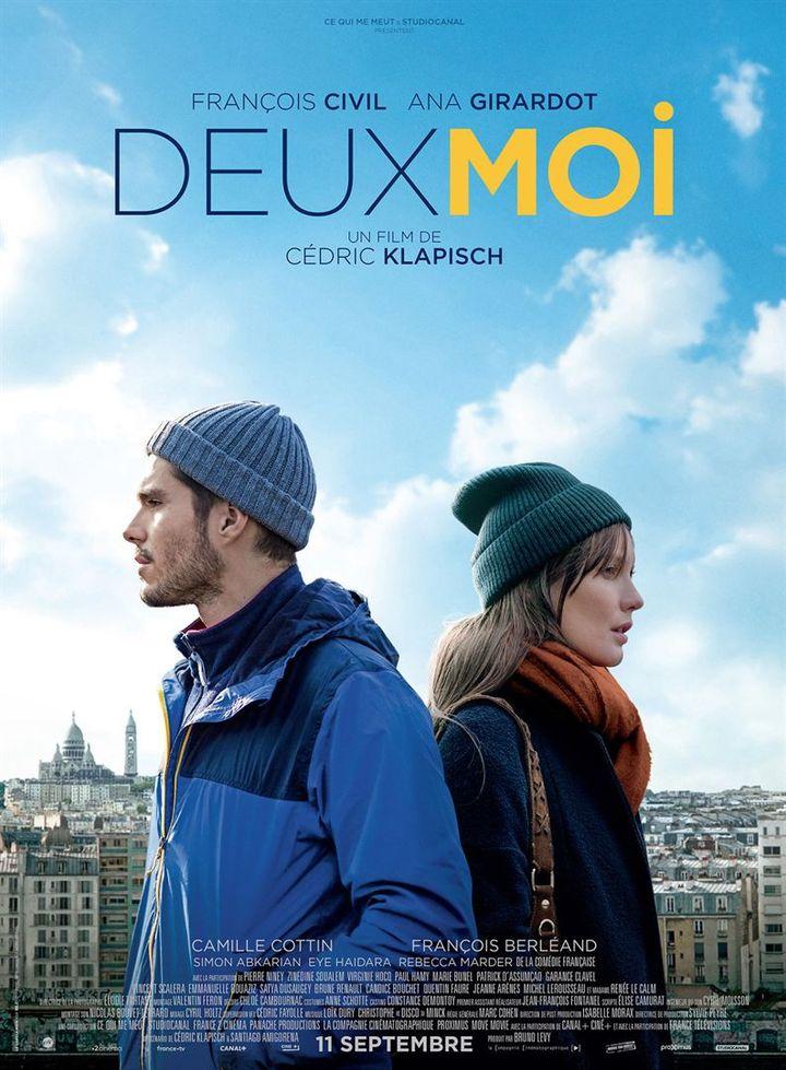 """L'affiche de """"Deux Moi"""" de Cédric Klapisch (STUDIOCANAL)"""