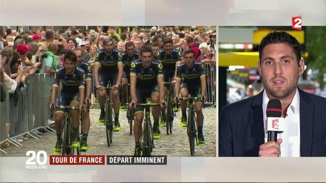 Le Tour de France s'élancera de Düsseldorf