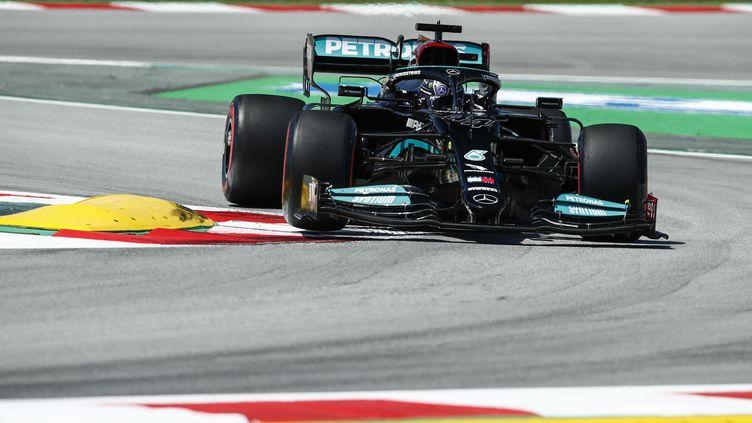 Lewis Hamilton sur le Grand Prix d'Espagne (XAVI BONILLA / XAVI BONILLA)