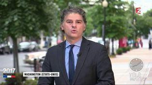 Jacques Cardoze, correspondant de France Télévisions à Washington. (FRANCE 2)