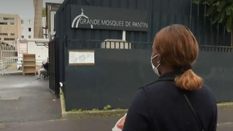 La mosquée de Pantin (Seine-Saint-Denis), qui peut accueillir jusqu'à 1 300 fidèles, sera fermée dès mercredi 21 octobre au soir, pour une durée de six mois. (France 2)