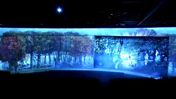 """""""Le dernier panache"""", la nouvelle attraction du Puy du Fou retrace l'histoire de Charette, figure de l'insurrection vendéenne  (France 3 / Culturebox / capture d'écran)"""