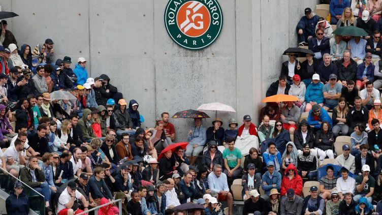 Des spectateurs lors du tournoi de Roland Garros 2019. (THOMAS SAMSON / AFP)