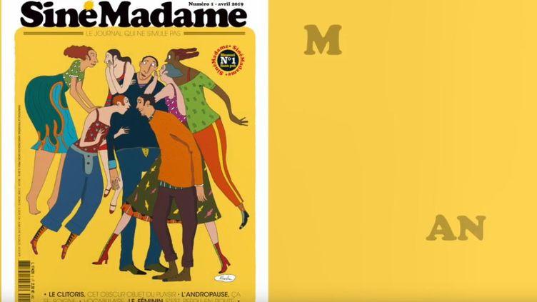 """Capture écran de la vidéo de """"Siné Madame"""", le 16 avril 2019. (SINE MADAME/YOUTUBE)"""