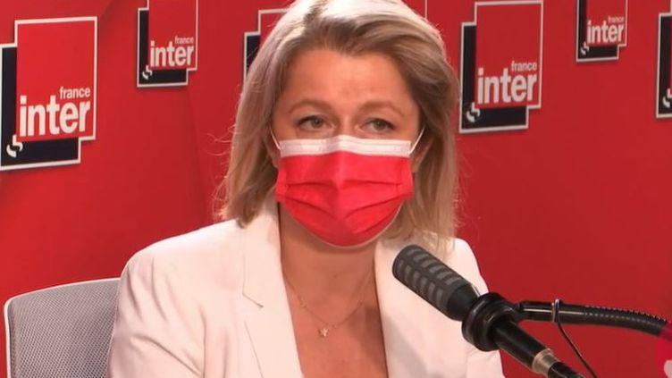 Barbara Pompili était l'invitée de France Inter mardi 15 juin. (FRANCE INTER)