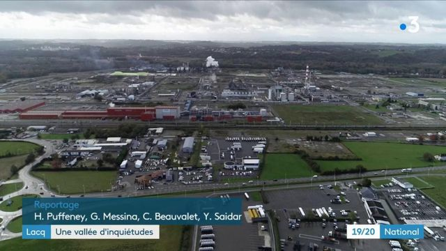 Risque sanitaire : les riverains des usines chimiques de Lacq sont inquiets