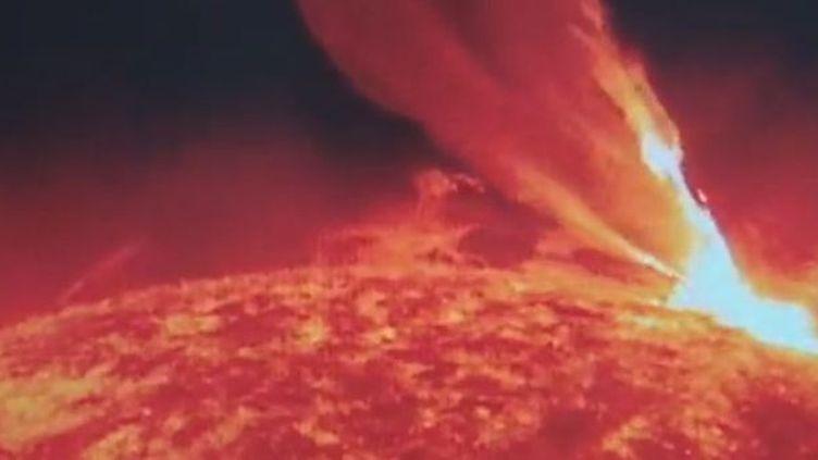 Une tempête solaire observée aux îles Canaries (Espagne). (TVE)