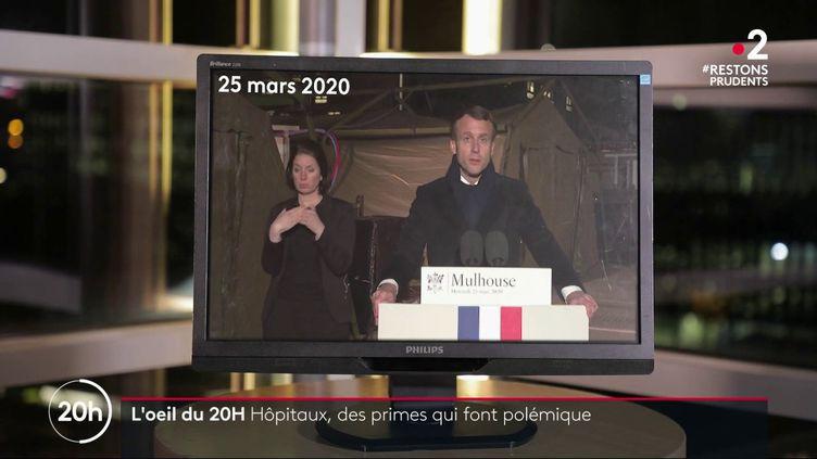 Pourquoi les soignants intérimaires n'ont-ils pas touché la prime promise par Emmanuel Macron? (FRANCE 2)