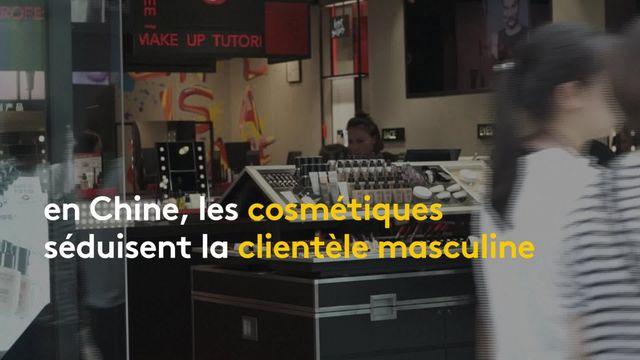 Chine : le maquillage pour homme est de plus en plus accepté