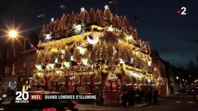Grande-Bretagne : à Noël, Londres se pare de mille feux