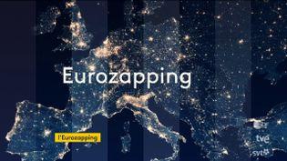 Comme tous les soirs, l'Eurozapping du mardi 26 mai fait un tour d'horizon des JT européens. (FRANCEINFO)