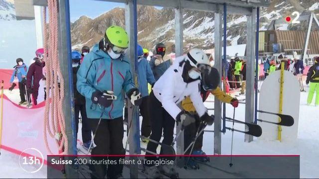 Suisse : 200 skieurs britanniques en quarantaine désertent leur hôtel