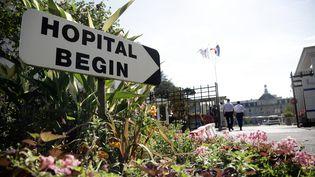 L'hôpital Bégin de Saint Mandé, en région parisienne, le 18 septembre 2014. (VINCENT ISORE / MAXPPP)