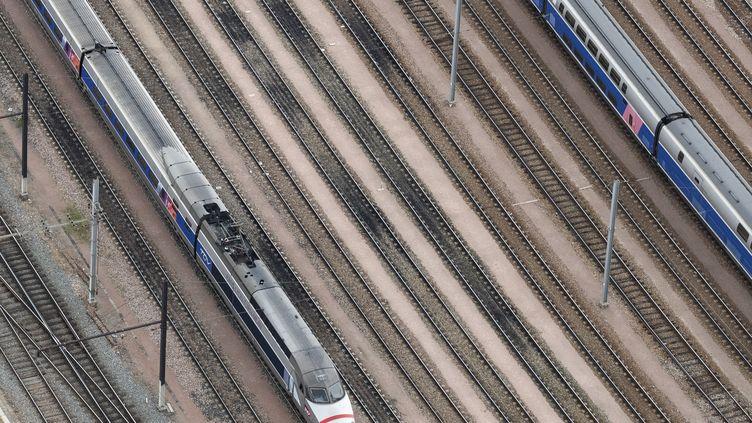 """L'Etablissement public de sécurité ferroviaire (EPSF),évoque""""plusieurs centaines d'anomalies"""" qui """"n'ont pas été traitées dans les délais"""". (KENZO TRIBOUILLARD / AFP)"""