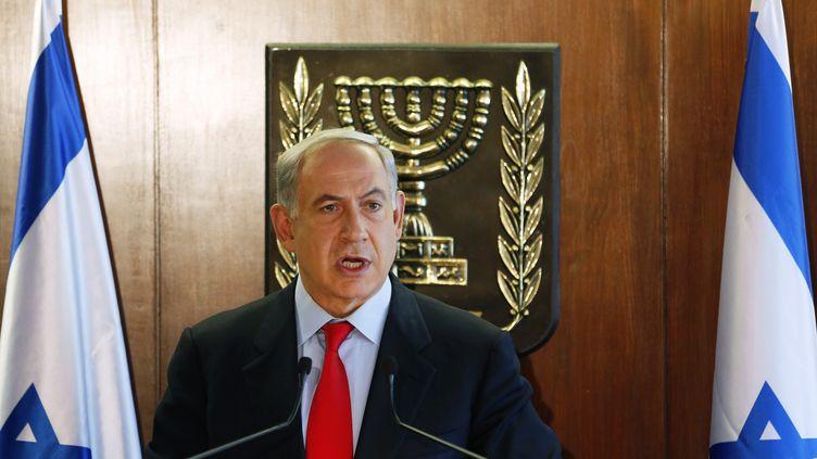 Benyamin Netanyahuau Parlement israélien,le 22 juillet 2013, à Jérusalem. (REUTERS )
