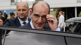 Le nouveau Premier ministre, Jean Castex, lors d'un déplacement auCoudray-Montceaux (Essonne), le 4 juillet 2020. (THOMAS COEX / AFP)