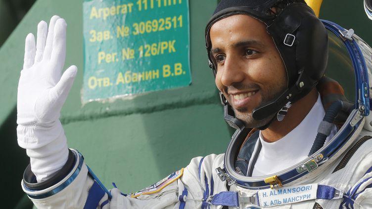 HazzaalMansouri le jour de son départ dans l'espace. (MAXIM SHIPENKOV / POOL)
