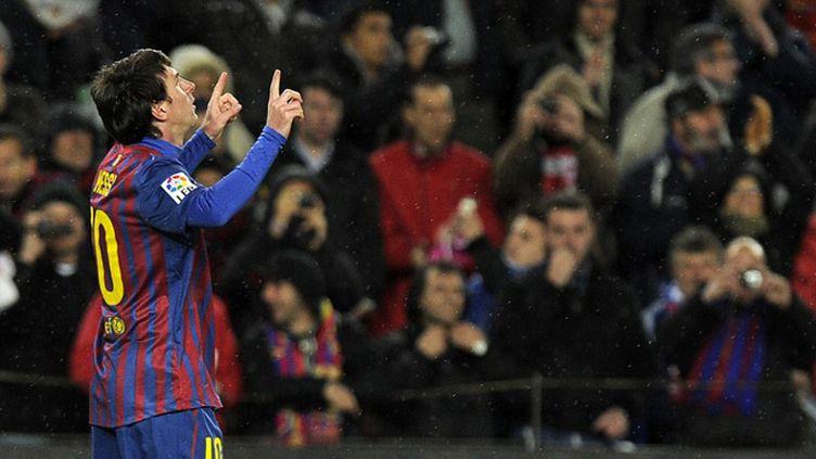 Lionel Messi est le meilleur buteur de l'histoire de Barcelone (LLUIS GENE / AFP)