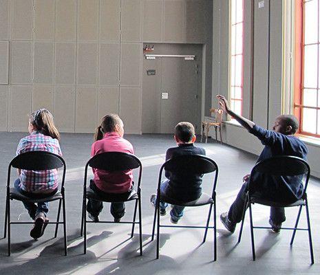 À Stains, Villeurbanne ou encore Marseille, les théâtres redémarrent en douceur, souvent avec des ateliers pour enfants. (Théâtre Populaire de Villeurbanne)