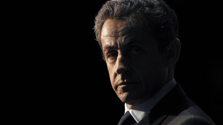 Portrait de Nicolas Sarkozy, pris le 10 avril 2012 lors de la dernière campagne présidentielle. (KENZO TRIBOUILLARD / AFP)