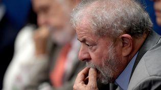 L'ex président brésilien Lula, le 29 août 2016. (EVARISTO SA / AFP)