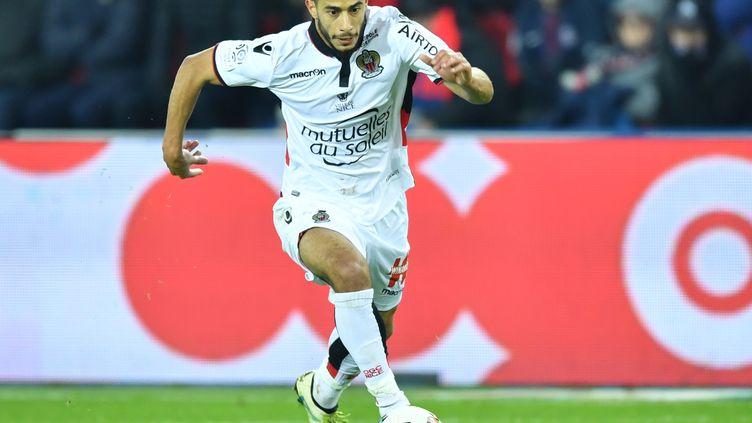 Le milieu offensif de l'OGC Nice, Younes Belhanda. (MUSTAFA YALCIN / ANADOLU AGENCY)