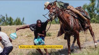 États-Unis : des gardes-frontières à cheval chassent des migrants, les images créent la polémique (FRANCEINFO)