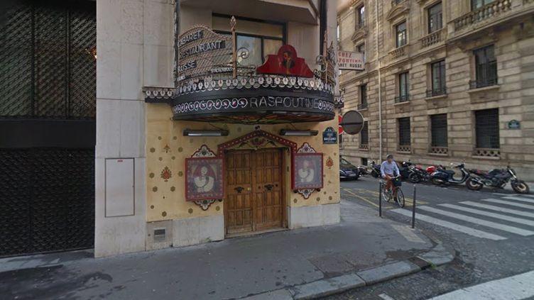 La discothèque Raspoutine dans le 8e arrondissement de Paris. (GOOGLE STREETVIEW)