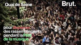 VIDEO. Fête de la musique à Paris : retour sur une soirée de fête... et de heurts (BRUT)
