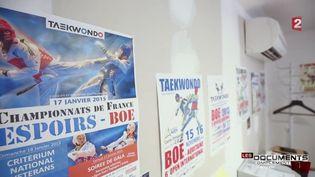 Taekwondo (CAPTURE ECRAN FRANCE 2)